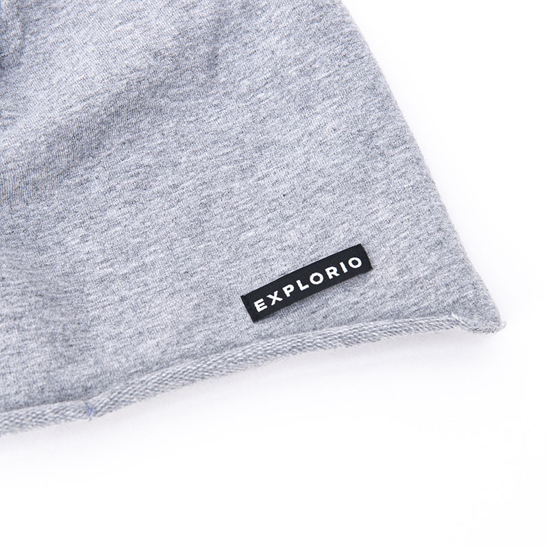 Explorio Beanie Gray Close-up