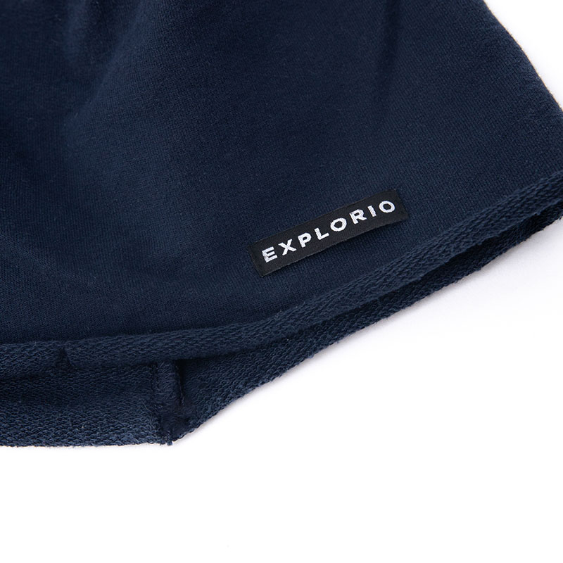 Explorio Beanie Navy Close-up