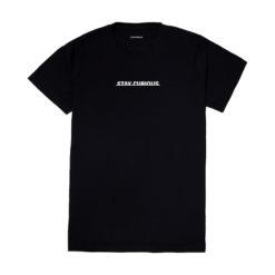 Explorio Stay Curious T-Shirt Black