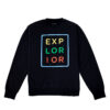 Explorior Color Sweatshirt Black