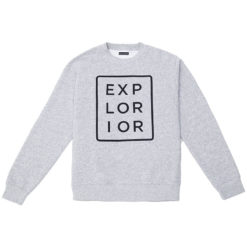 Explorior Color Sweatshirt Gray