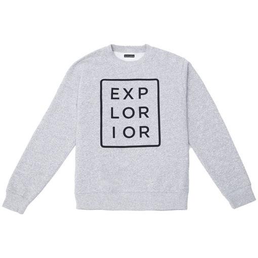 Explorior Color Sweatshirt Gray