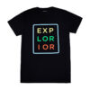 Explorior Color T-Shirt Black