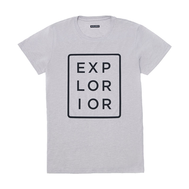 Explorior Color T-Shirt Gray
