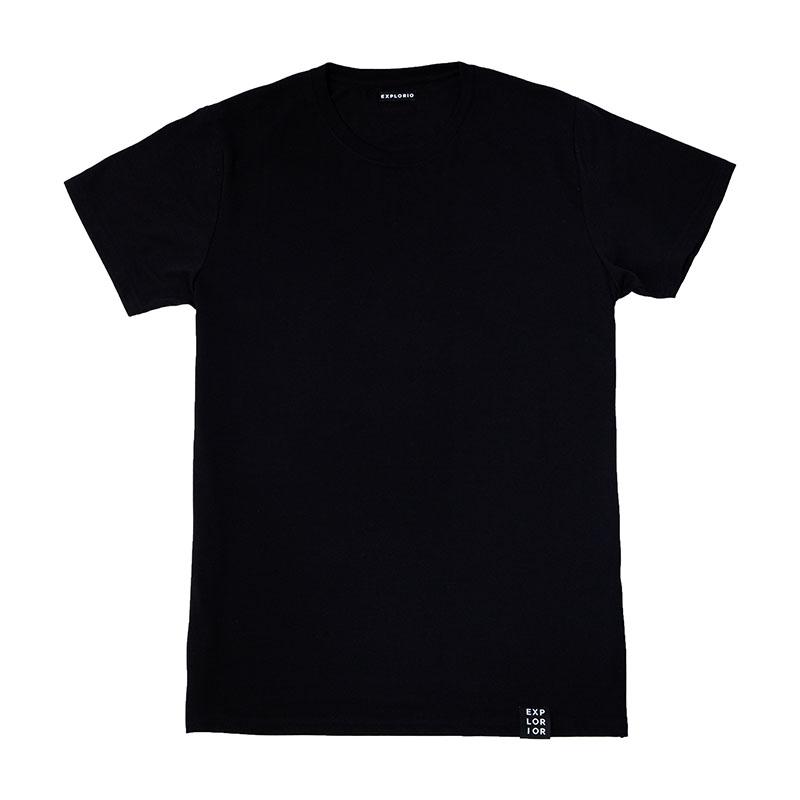 Explorior Minimalist T-Shirt Black