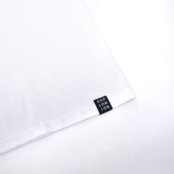 Explorior Minimalist T-Shirt White Close-up