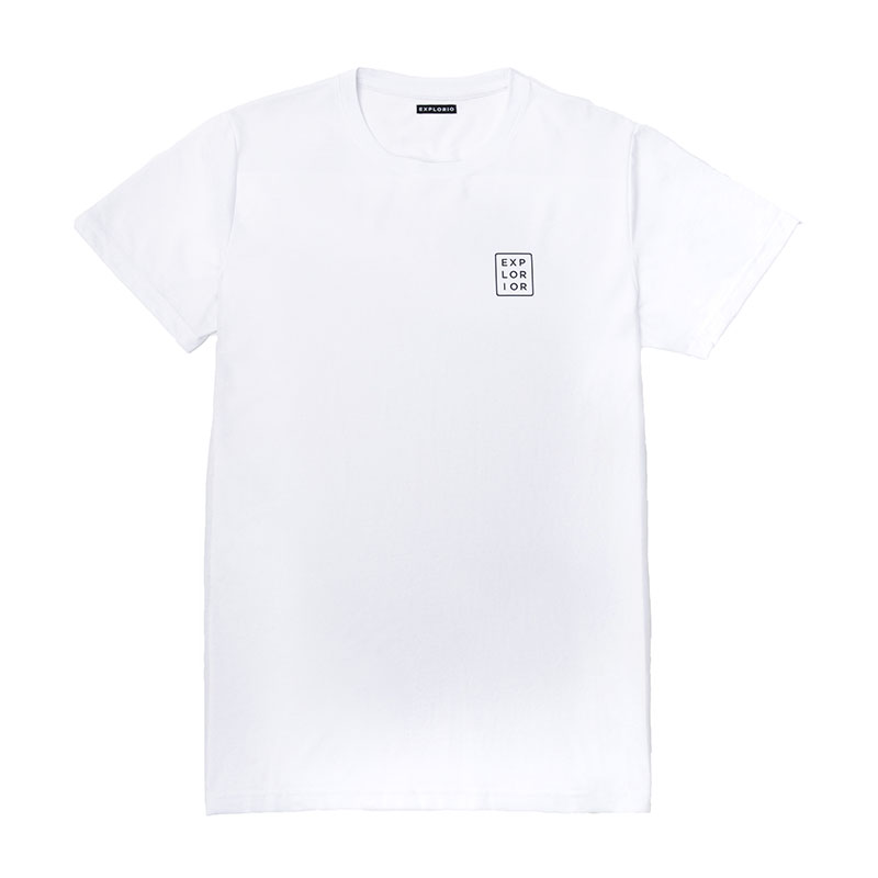 Explorior Original T-Shirt White Front